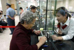 Выход на пенсию женщины в России