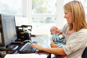 Могут ли уволить женщину с ребенком