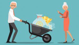 Социальная пенсия больше обычной пенсии