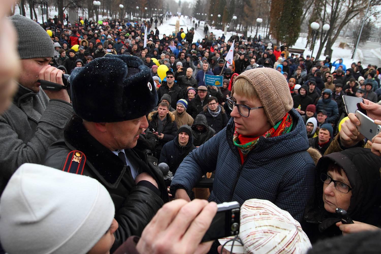 Госдума ужесточила наказание за нарушения на митингах