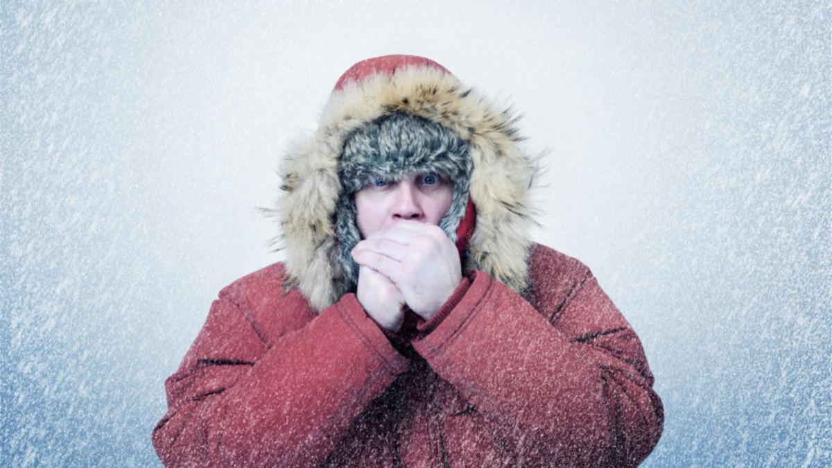 Мороз и обильный снегопад