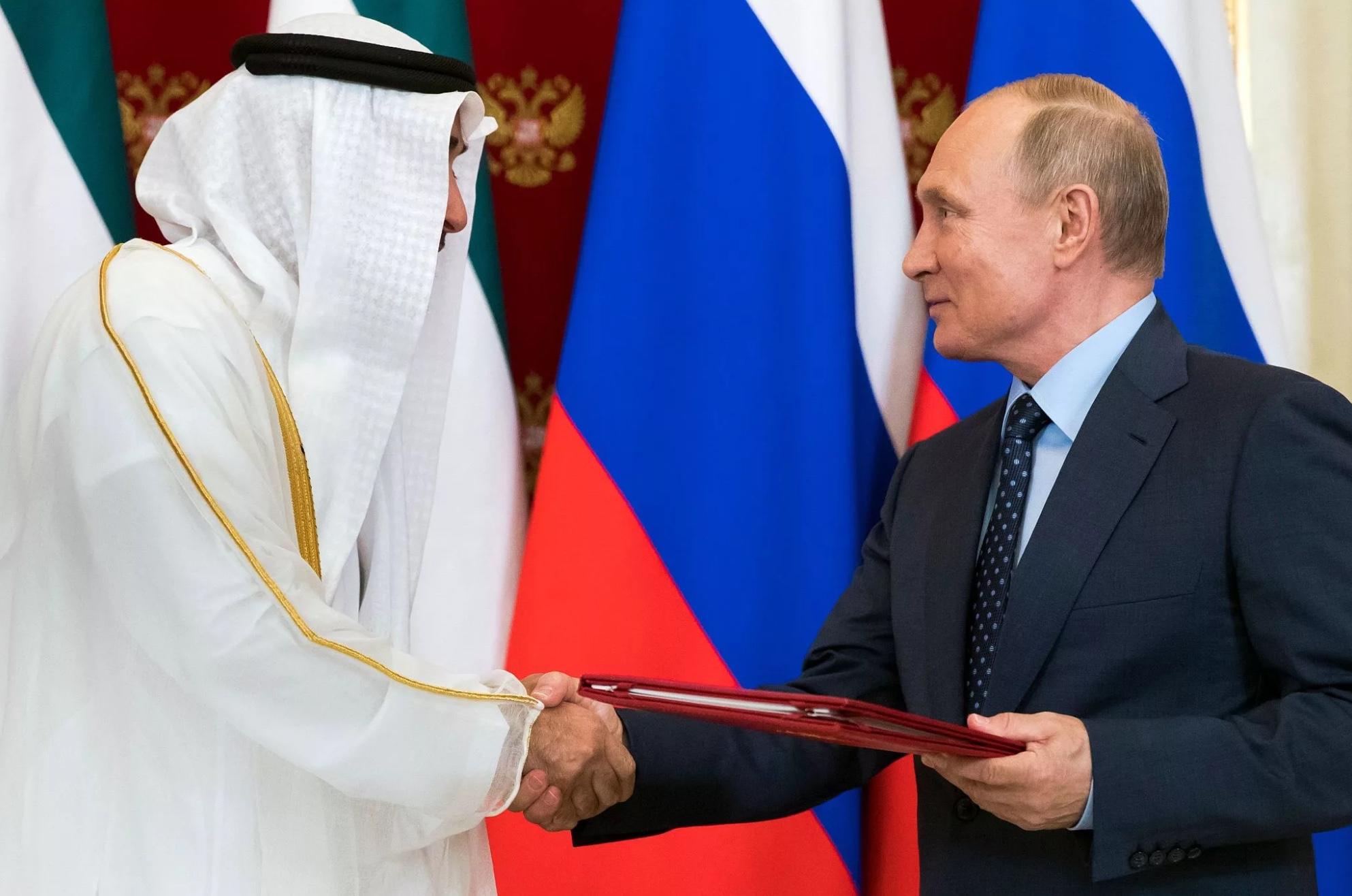 Россия совместно с ОАЭ создадут общую компанию
