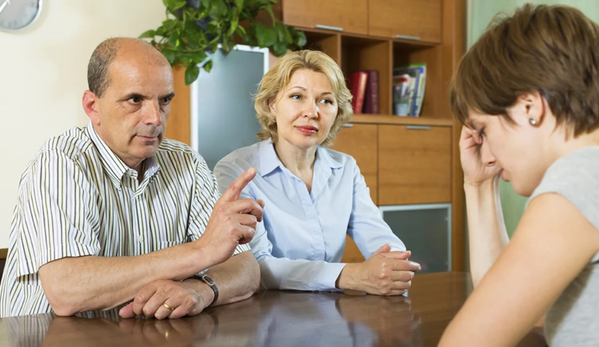 Как исключить родителей из числа наследников?