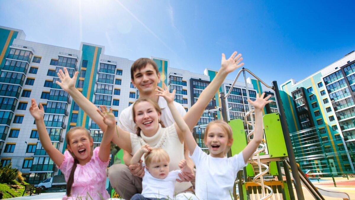 Многодетным могут увеличивать выплату на получение жилья