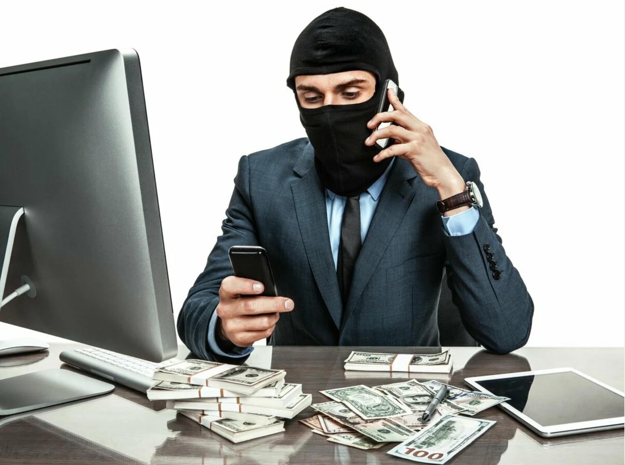 Назван средний чек мошенников в России