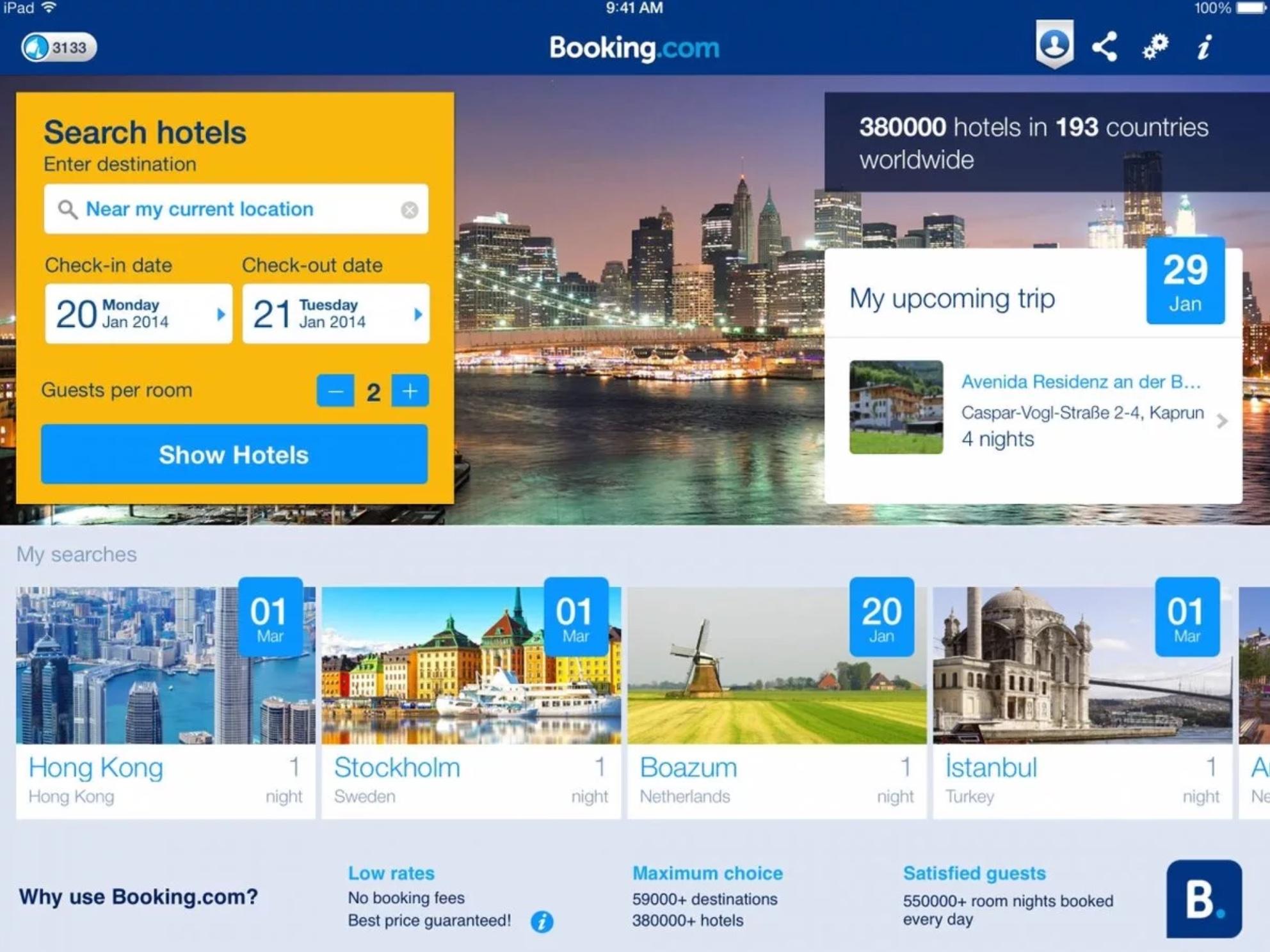 Отели, использующие Booking.com, получили налоговые послабления