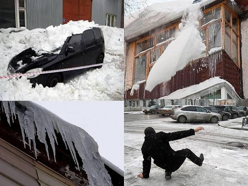 Ущерб от снега. Кто возместит?