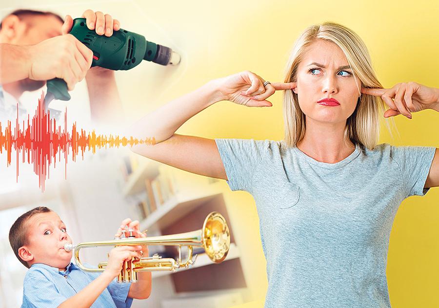 Что делать, если соседи шумят?