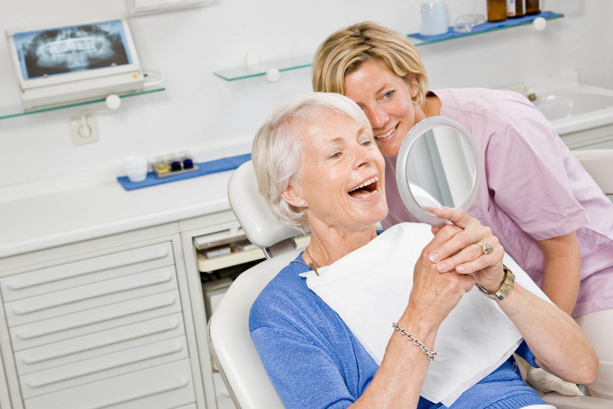 Компенсация за лечение и протезирование зубов