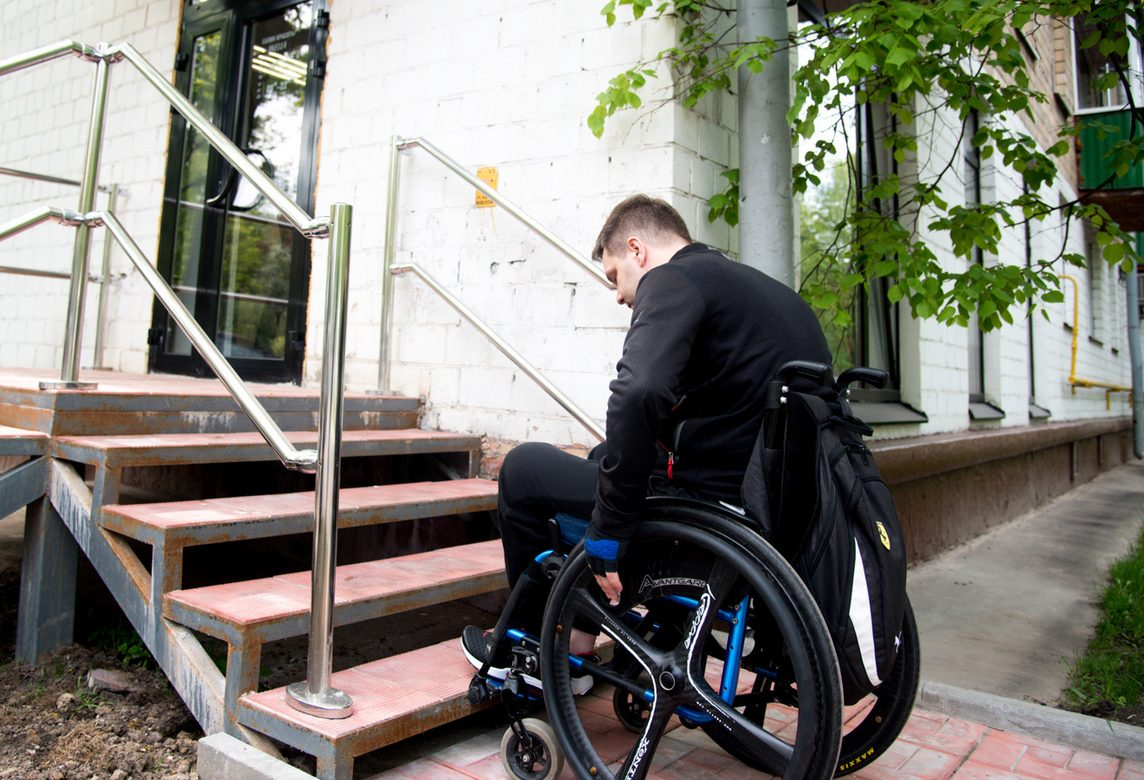 Большинство домов в России не оборудованы для инвалидов