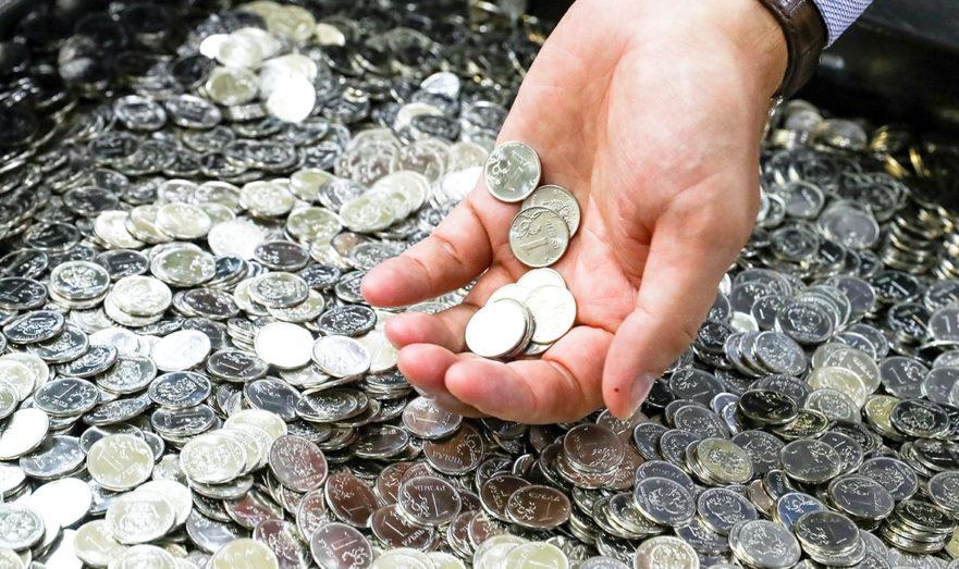Центробанк начнет собирать монеты у россиян