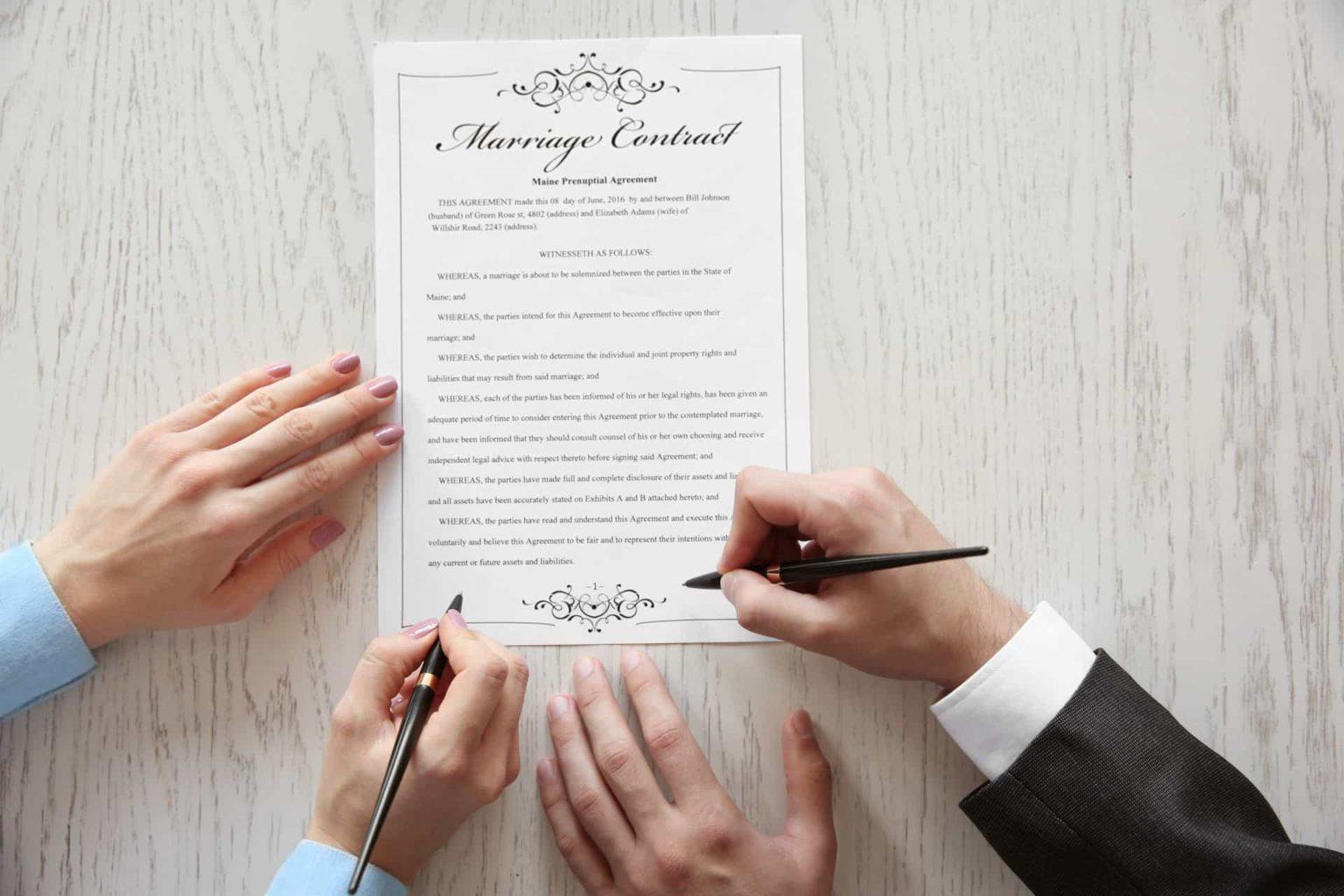 Брачный договор или соглашение?