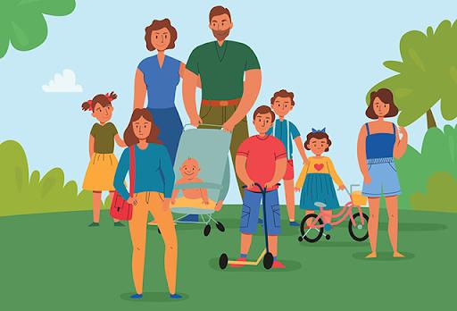 Многодетные семьи могут оплатить госпошлины с 30% скидкой