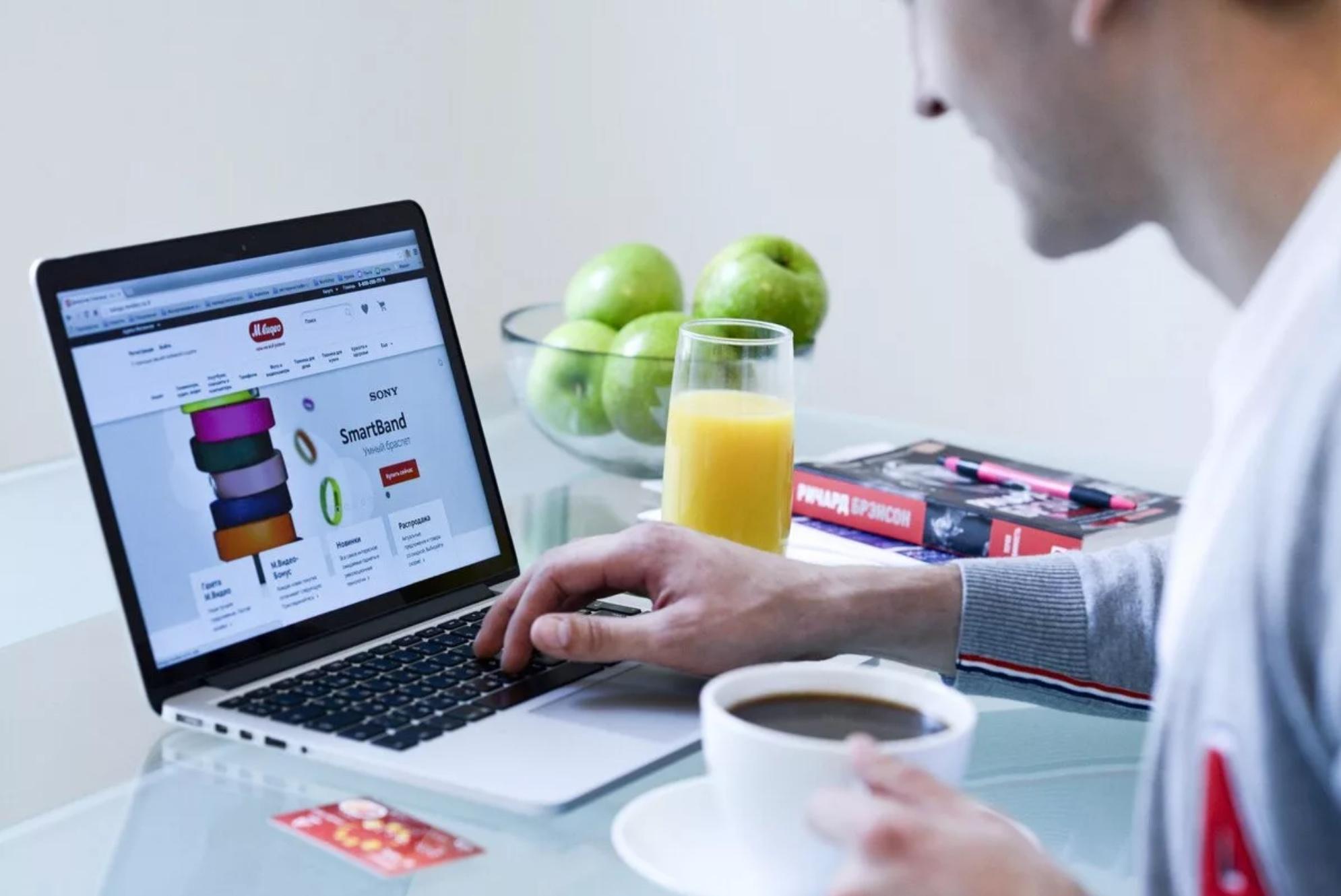 Популярность онлайн-покупок сохраняется в России после снятия ограничений