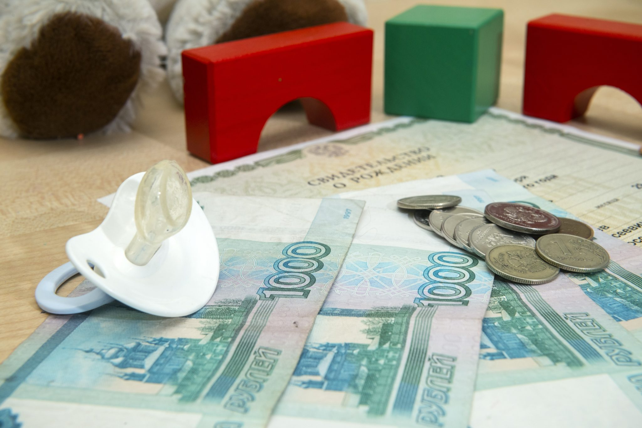Государство выделило 505 млрд рублей на выплаты на детей