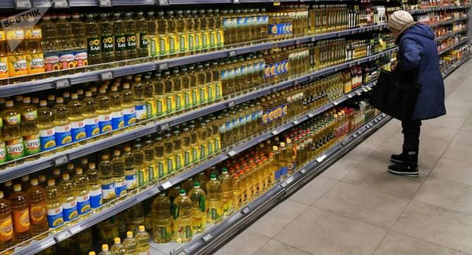 В России резко упали цены на подсолнечное масло