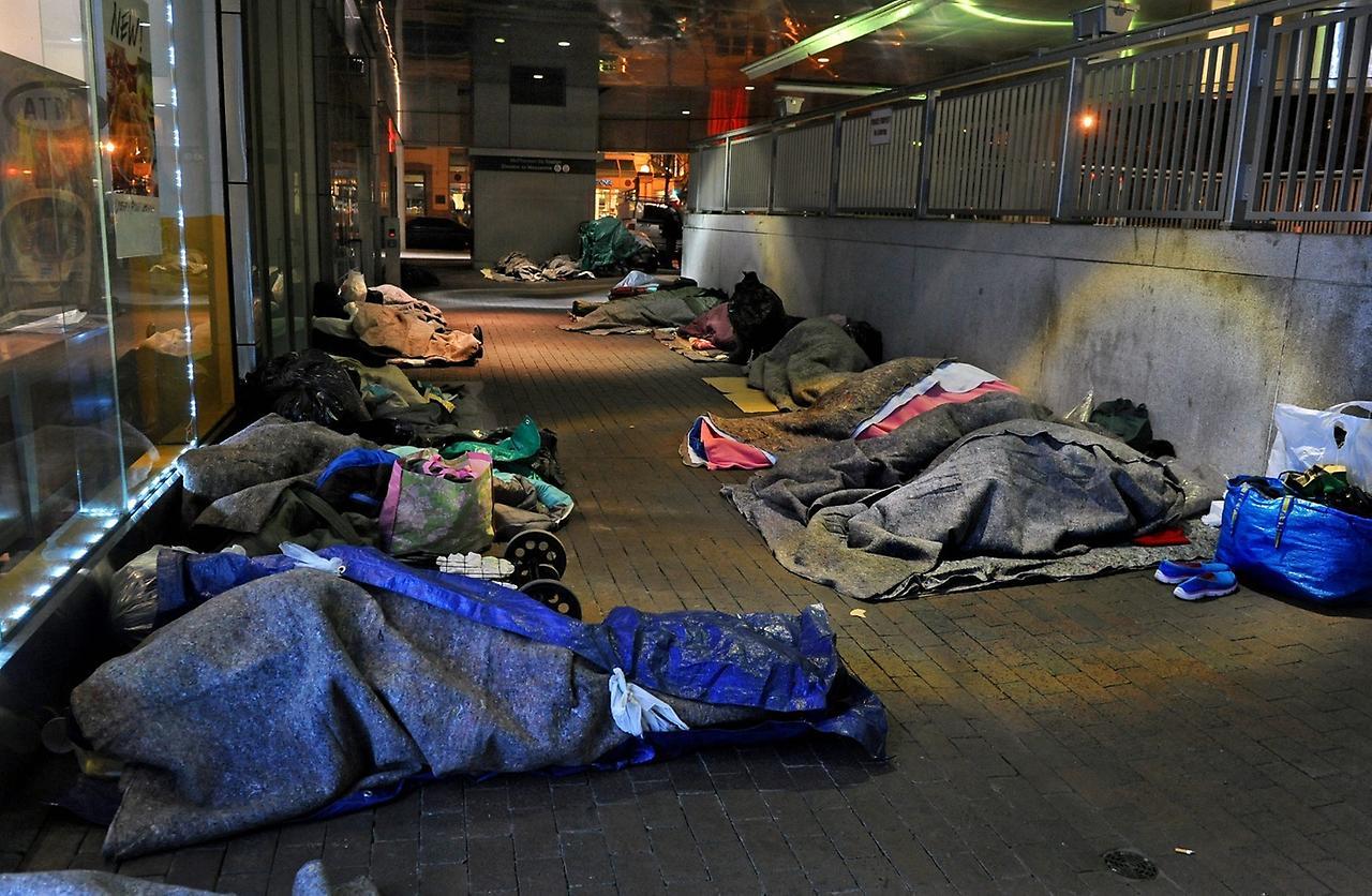 Проблема бездомности в России