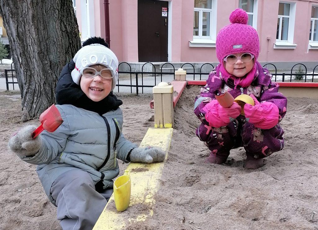 Детские сады для детей с нарушением зрения. Как попасть?