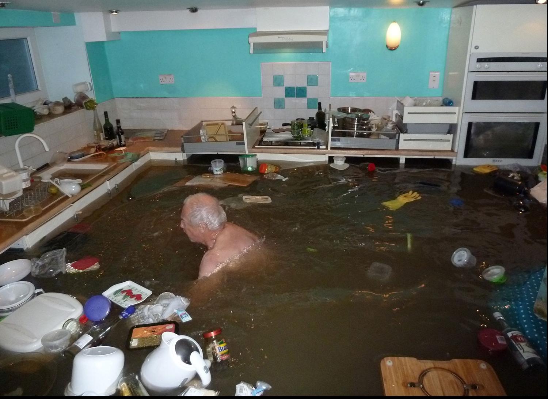 Если сосед устроил потоп