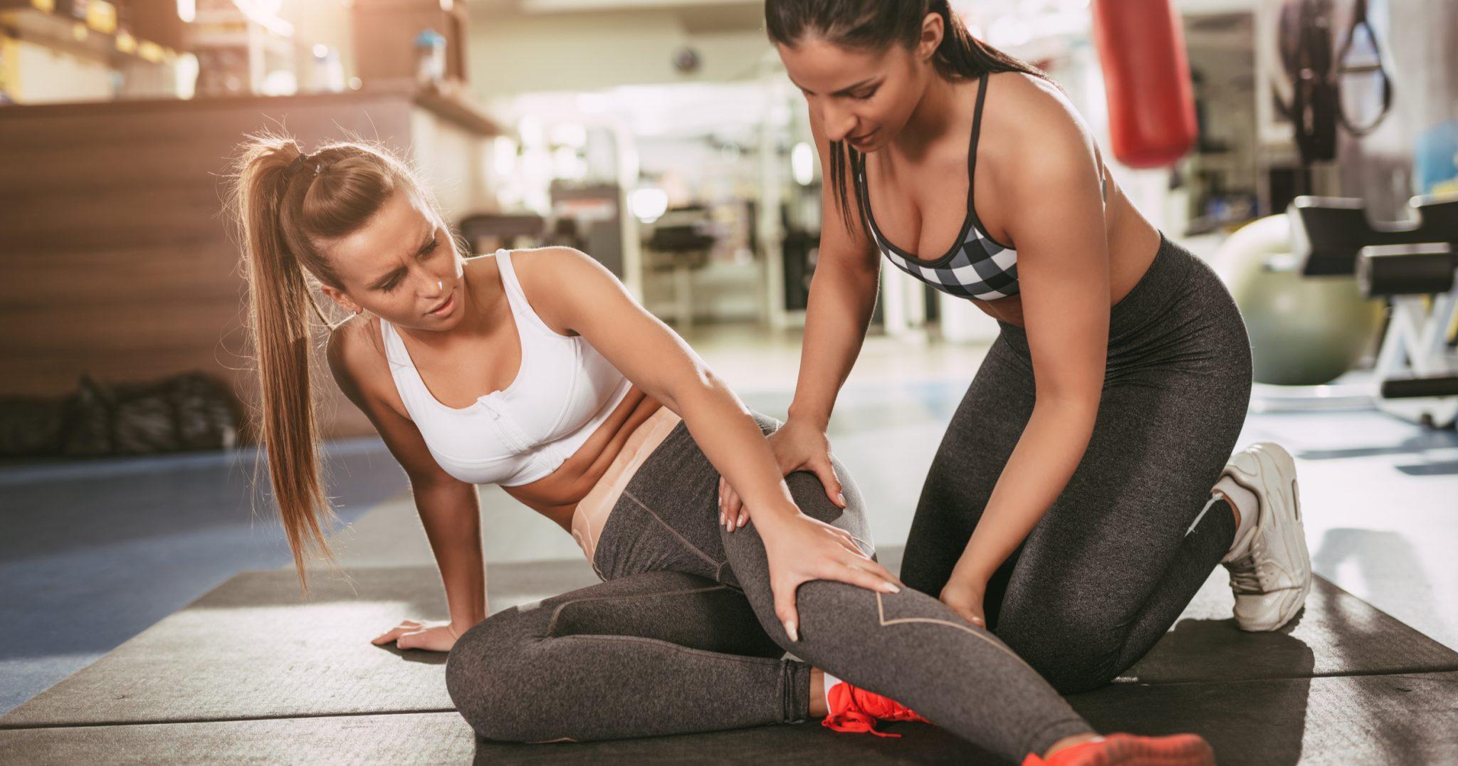 Кто отвечает за травму на тренировке?