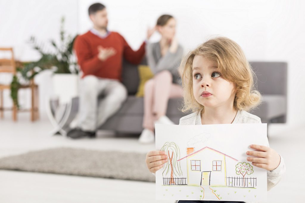 Особенности определения места жительства ребенка