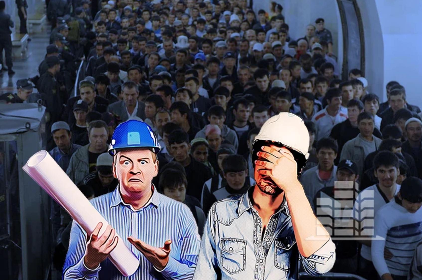 Замена трудовых мигрантов на заключенных получила одобрение главы Минюста
