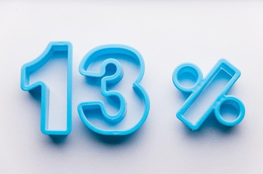 Каким образом правильно рассчитать НДФЛ в размере 13%. Пример