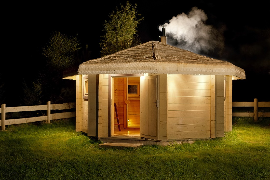 На каком расстоянии от дома можно строить баню по пожарным нормам СНиП