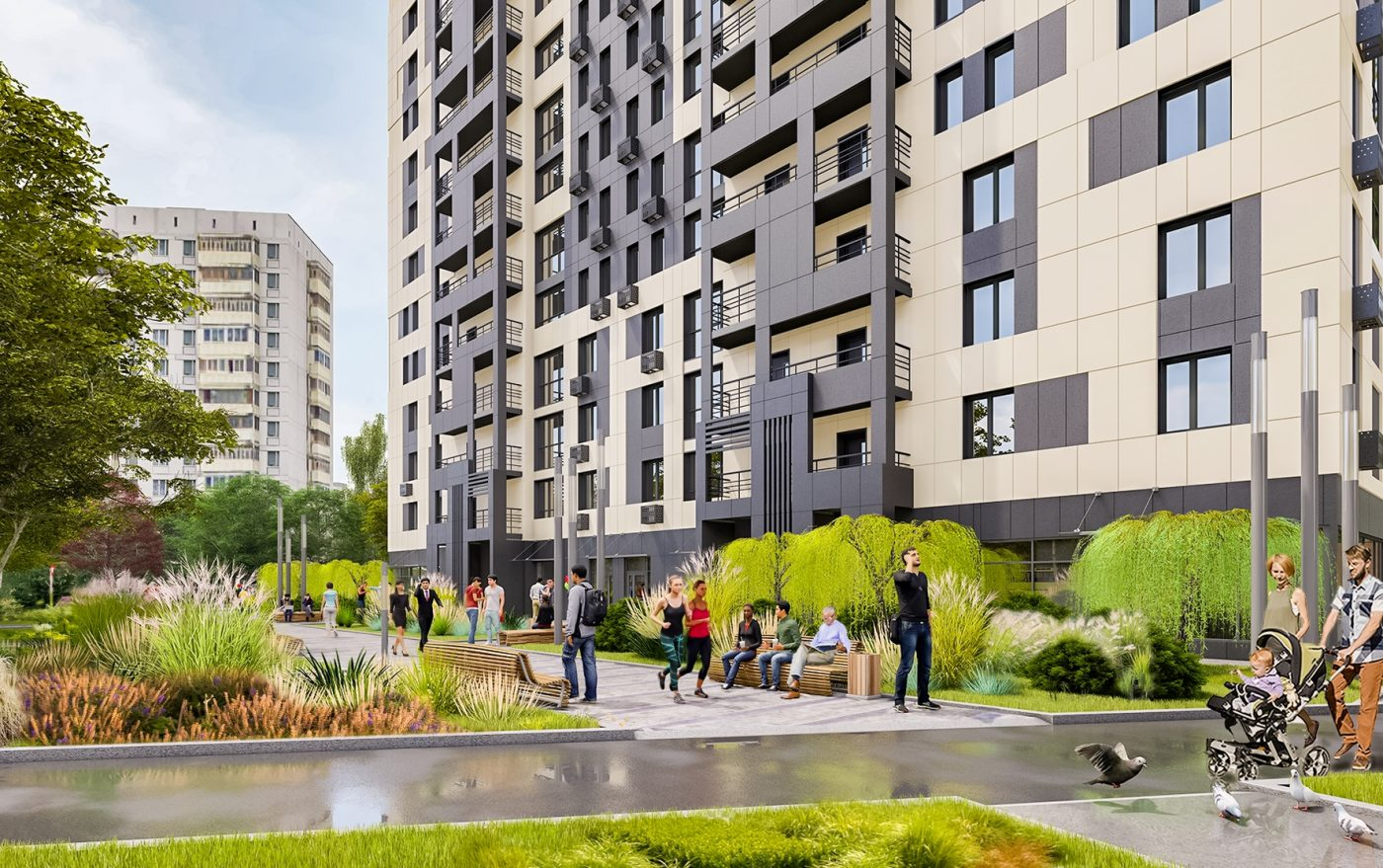Четыре жилых дома ввели в эксплуатацию по реновации на юго-западе Москвы